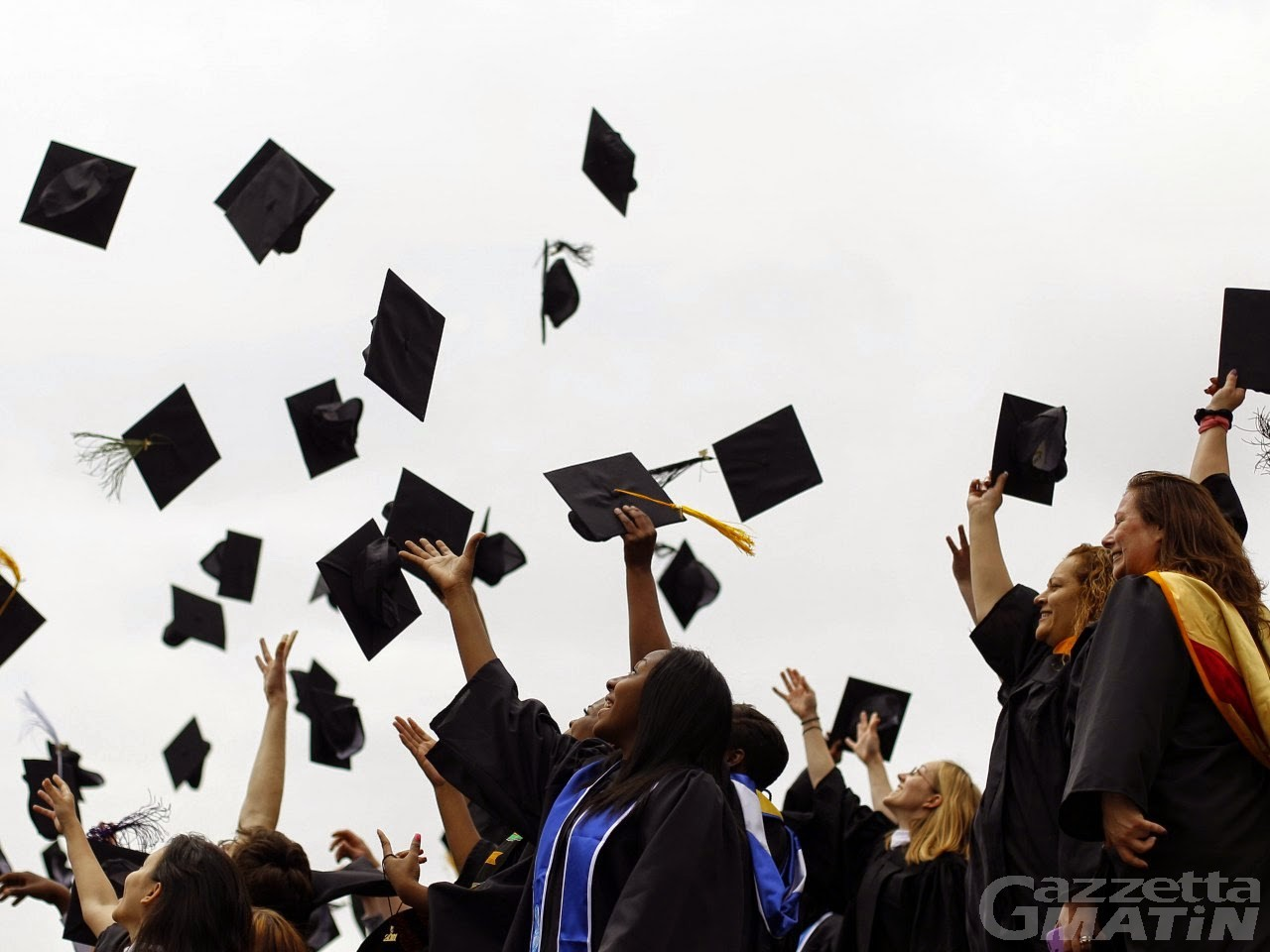 Gressan festeggia i suoi laureati