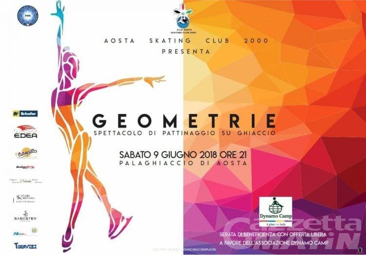 Pattinaggio: domani lo spettacolo dell'Aosta Skating