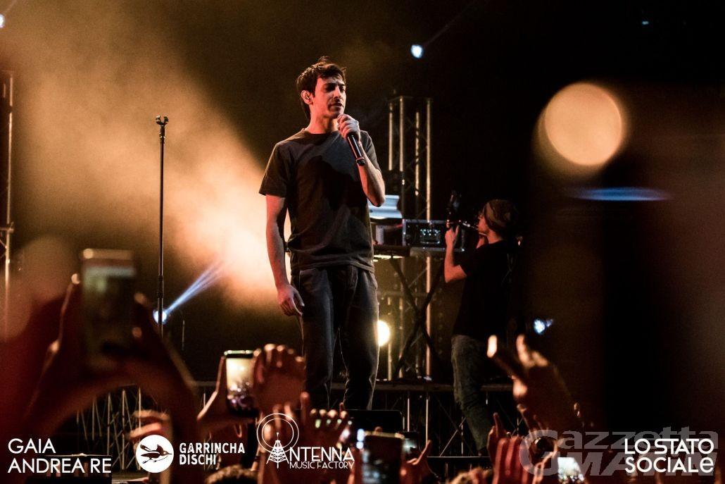Vibrazioni, PFM, Stato Sociale e Bandabardò a Musicastelle Outdoor 2018