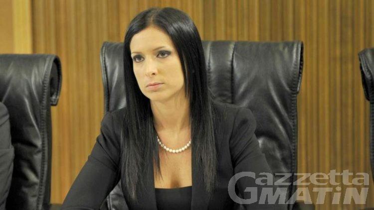 Emily Rini abbandona l'Union valdôtaine