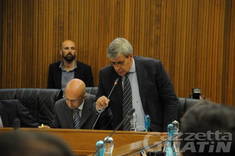 Antonio Fosson presidente del Consiglio, Rini e Bianchi vice