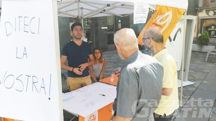 Pd: Dillo ai giovani democratici, presidio ad Aosta