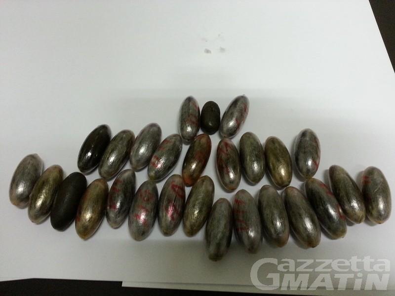 Ai domiciliari, trovato con droga: aostano condannato