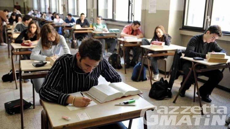 Valle d'Aosta: maturità al via per oltre 800 studenti