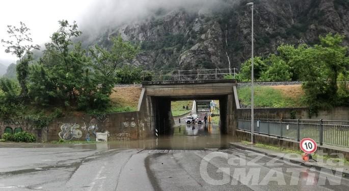 Champorcher, chiusura precauzionale strada regionale Dondena