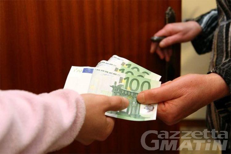 Aosta, falso avvocato estorce 5 mila euro ad anziana