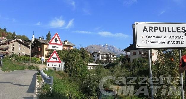 Aosta: approvato il progetto per riqualificazione di Arpuilles