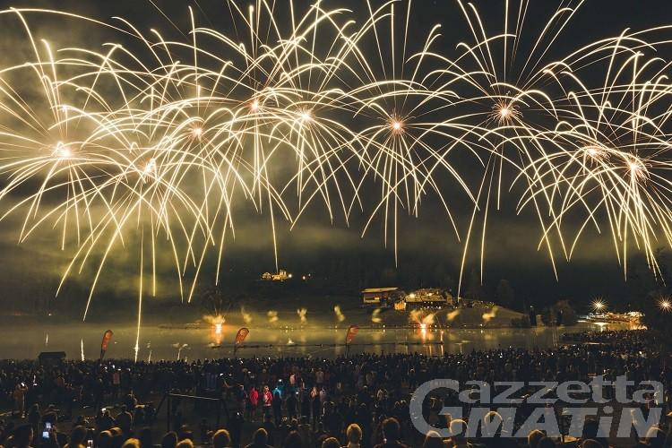 """Brusson, musica e fuochi d'artificio con lo spettacolo di CVA """"Epica la Valle dei miti"""""""