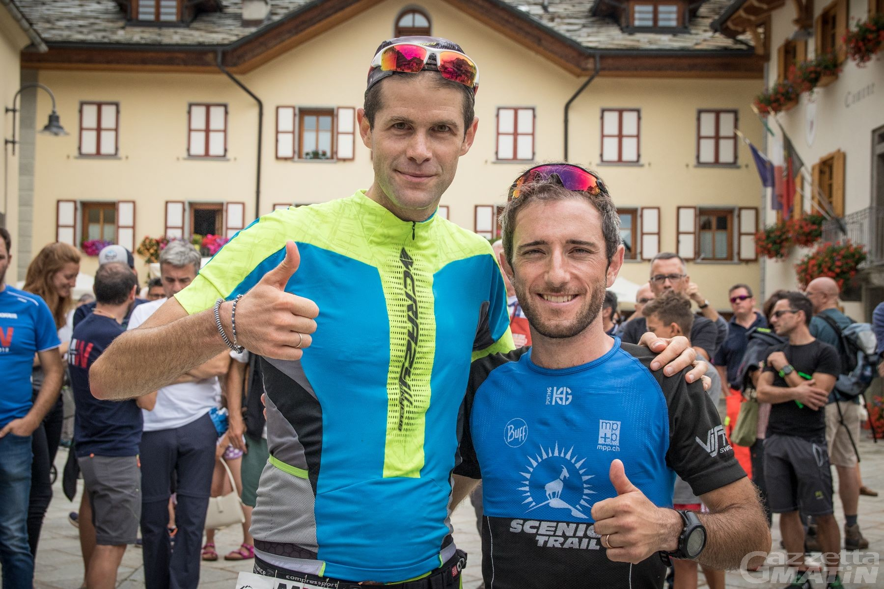 Monte Rosa Walser Trail: vincono Galeati e Manfredi