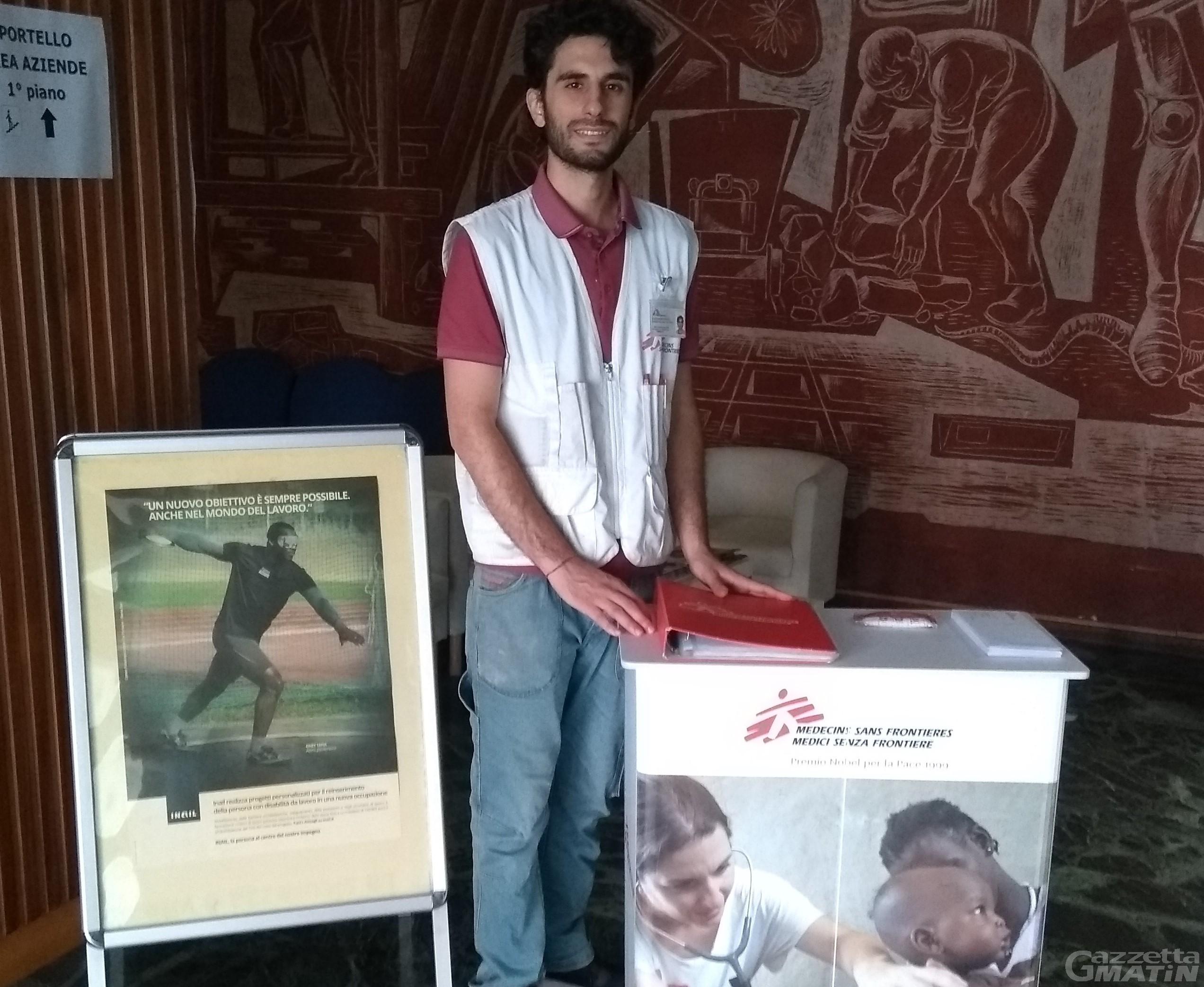 Medici senza frontiere ad Aosta: 100 nuove adesioni in 10 giorni