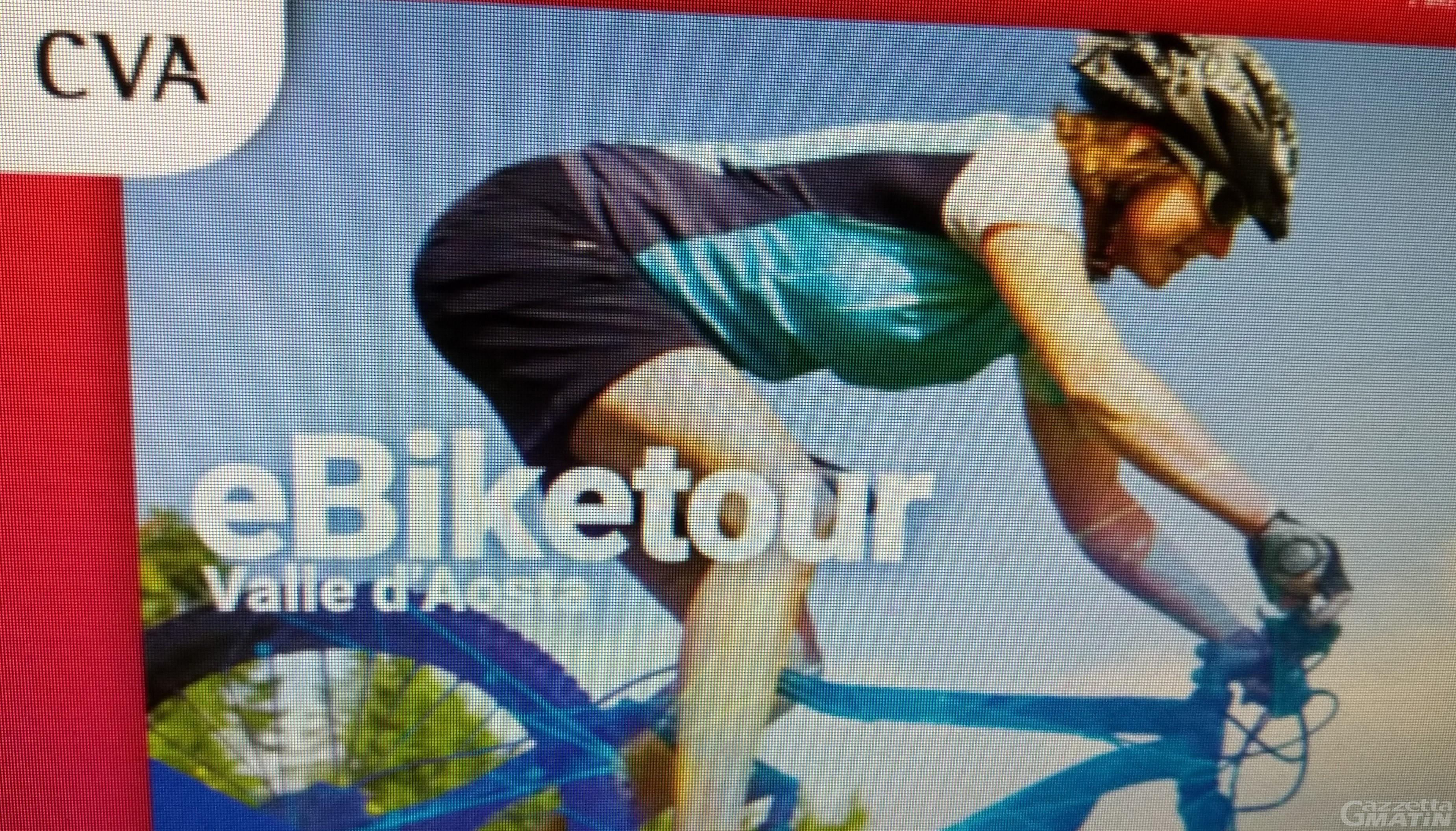 """Bici elettriche: 14 tappe per il """"CVA tour Valle d'Aosta"""""""