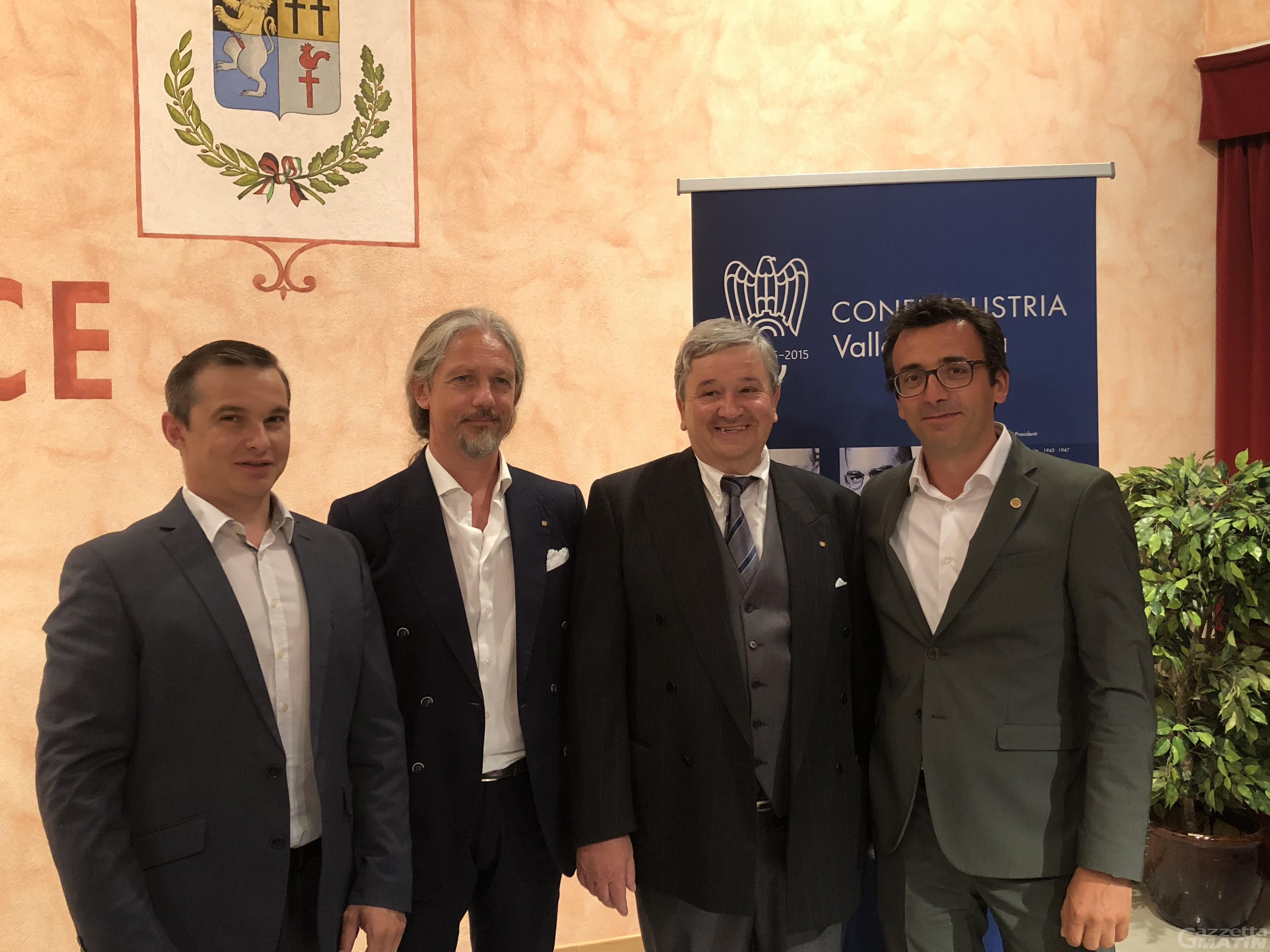 Confindustria Vda: Giancarlo Giachino nuovo presidente