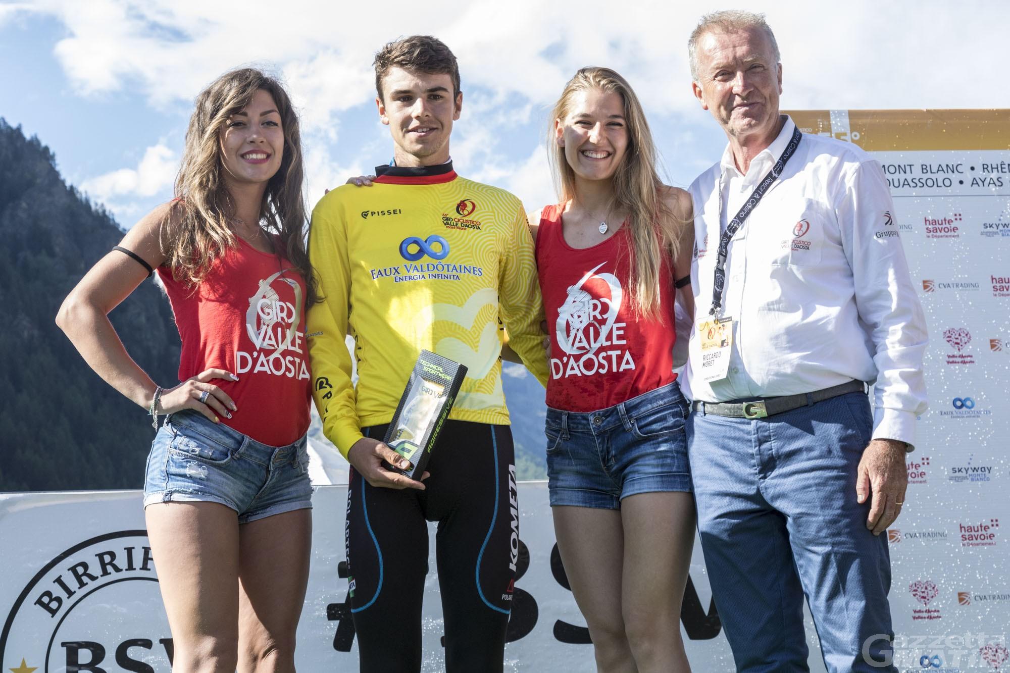 Giro della Valle: il tappone promuove in giallo Inkelaar