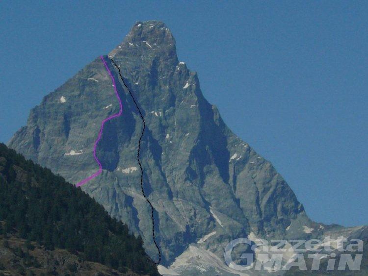 Tragedia sul Cervino: alpinista ucraina muore colpita da un fulmine