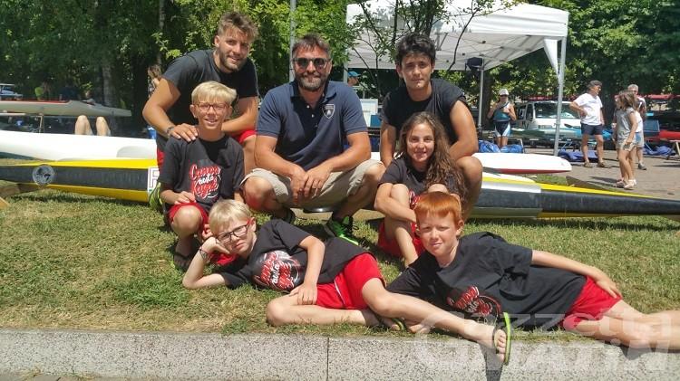 Canoa, quattro giovanissimi in gara a Omegna