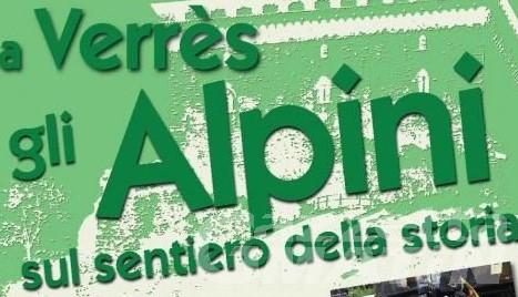 Alpini: a Verrès una tre giorni dedicata alla storia con mostre, conferenze e sfilate