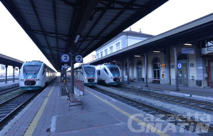 Ferrovia: il Piemonte inserisce l'elettrificazione dell'Ivrea-Aosta nel Recovery