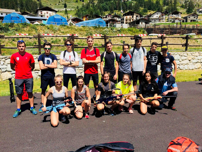 Biathlon: doppio impegno a Bionaz per la squadra dell'Asiva