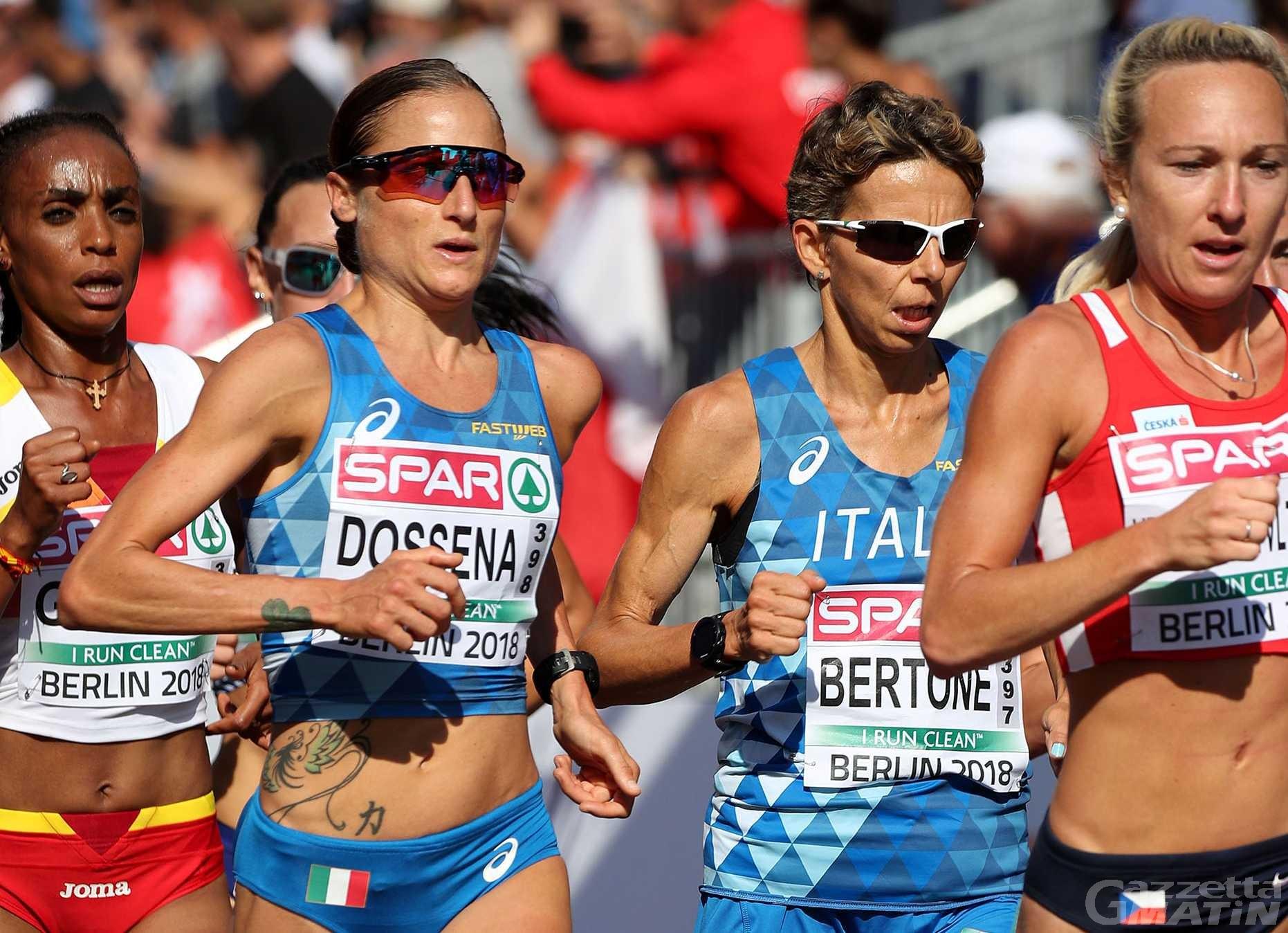 Atletica leggera: Catherine Bertone convocata per i Mondiali