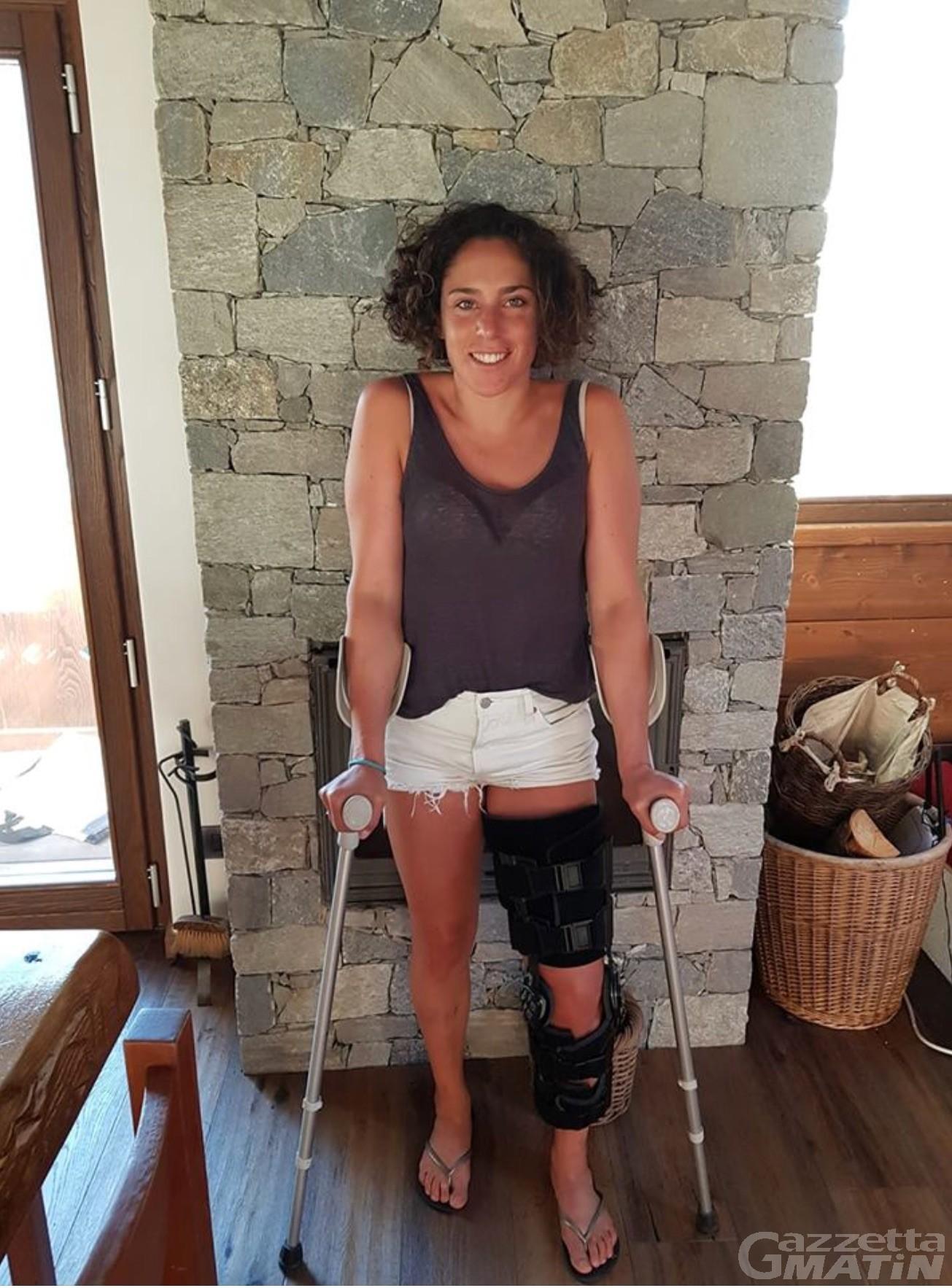 Sci alpino: incidente a Plateau Rosa per Brignone