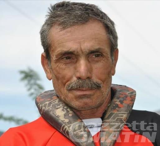 Verrès: motocross in lutto per la morte di Ciriaco Cosentino