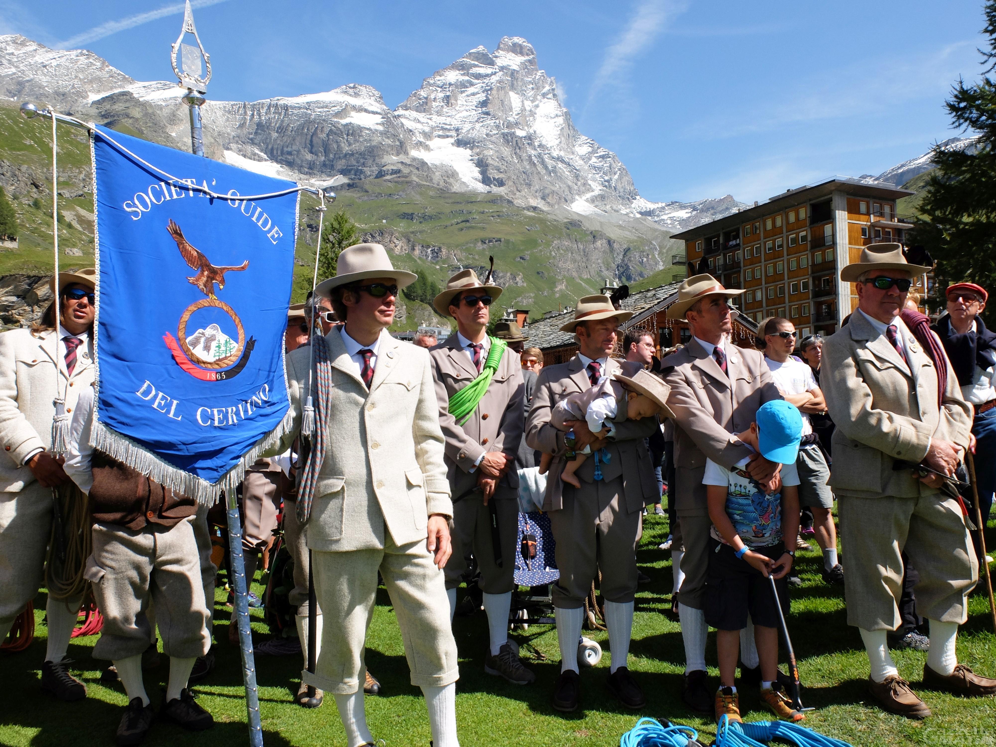 A Ferragosto festa delle Guide alpine valdostane