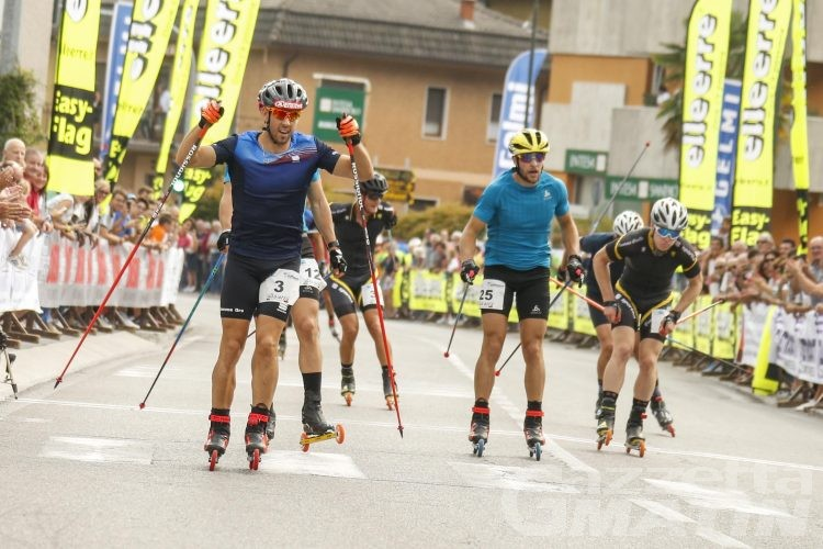 Skiroll: Pellegrino e Brocard d'oro in Coppa Italia