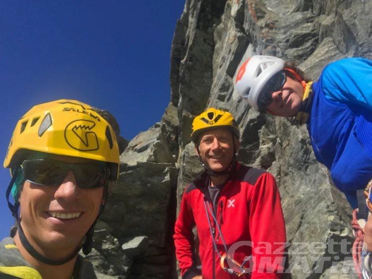 Montagna: François Cazzanelli apre una nuova via sul Cervino