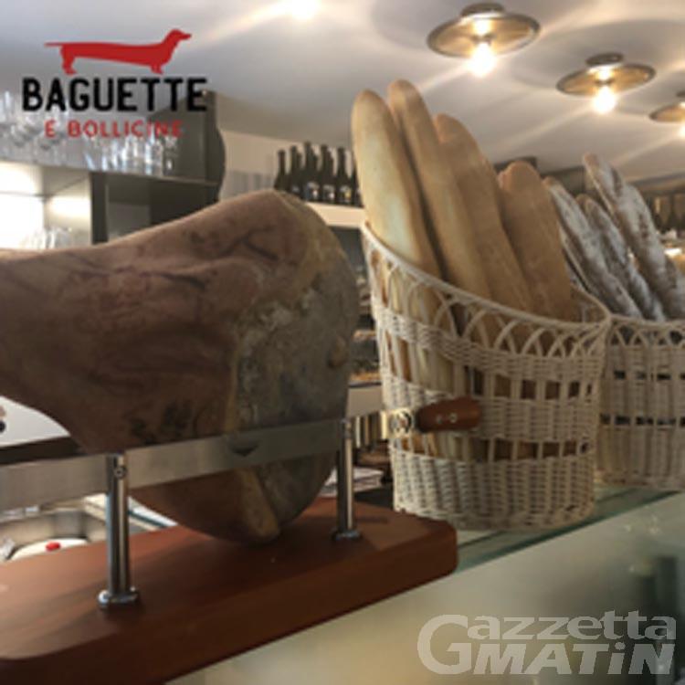 Baguette e Bollicine, nel cuore di Aosta il panino diventa gourmet