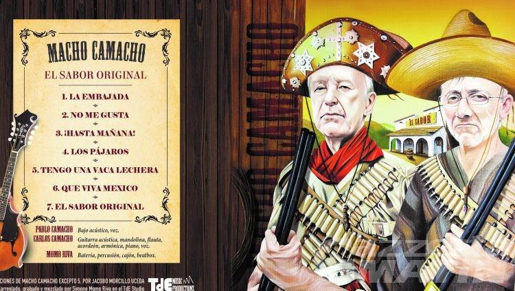 Musica: esce oggi il nuovo cd degli storici Macho Camacho