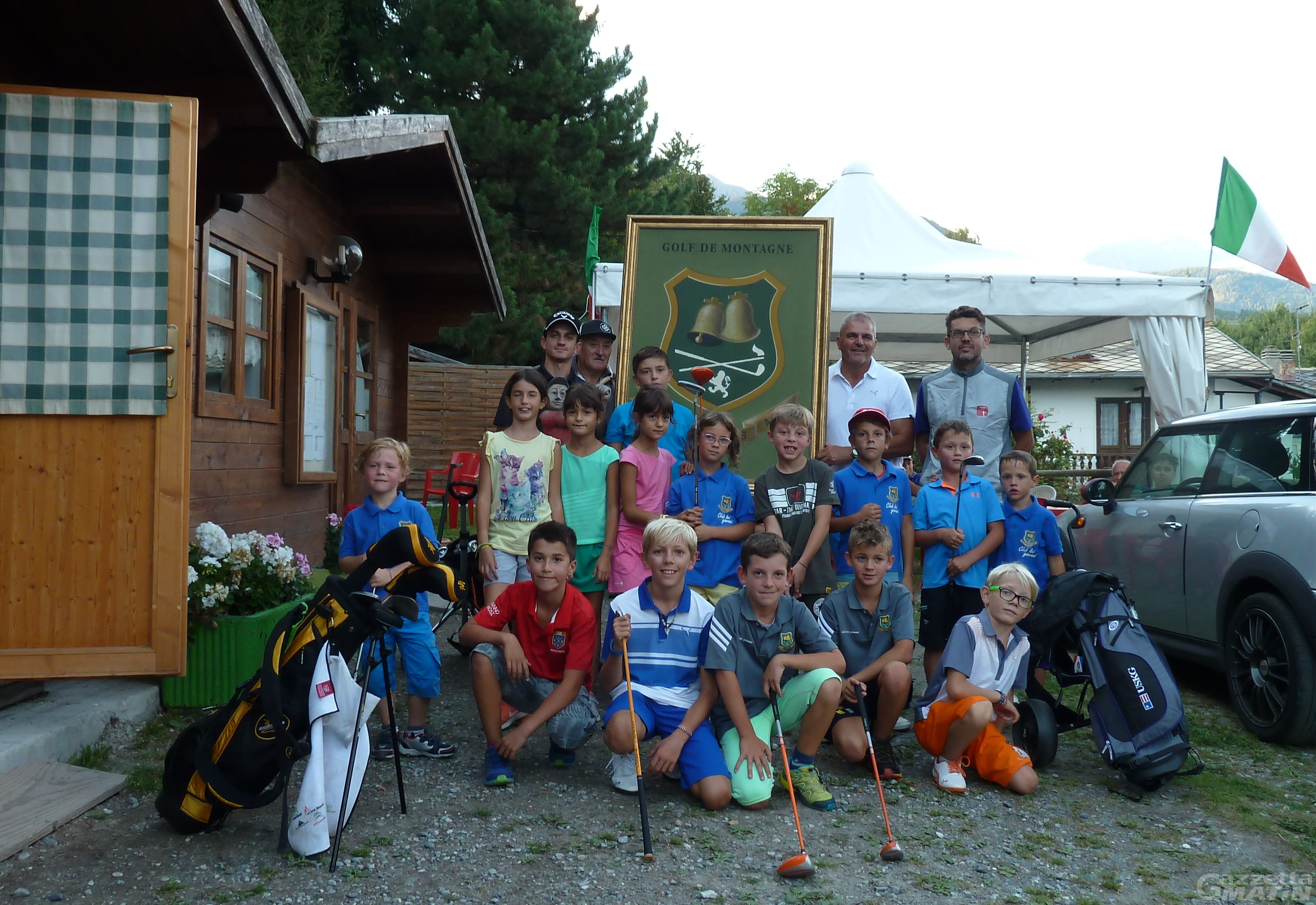 Golf, la coppa club giovani del Club Arsanières a Gignod