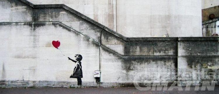 Street art, Banksy spiegato ai bambini in biblioteca