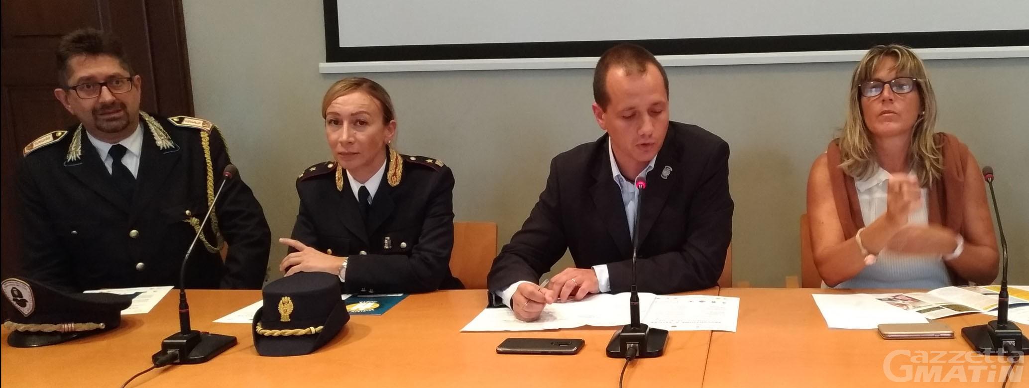 Prevenzione e salute: forze dell'ordine in campo per le fasce deboli
