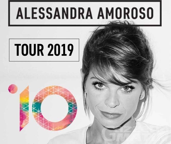 Musica: Alessandra Amoroso in concerto a Courmayeur il 4 aprile