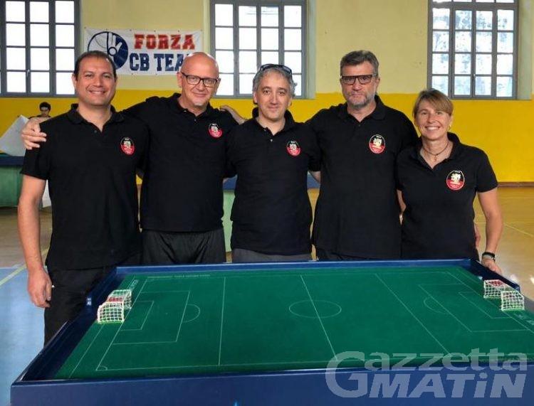 Calcio da tavolo: buon esordio per l'ASD Aosta