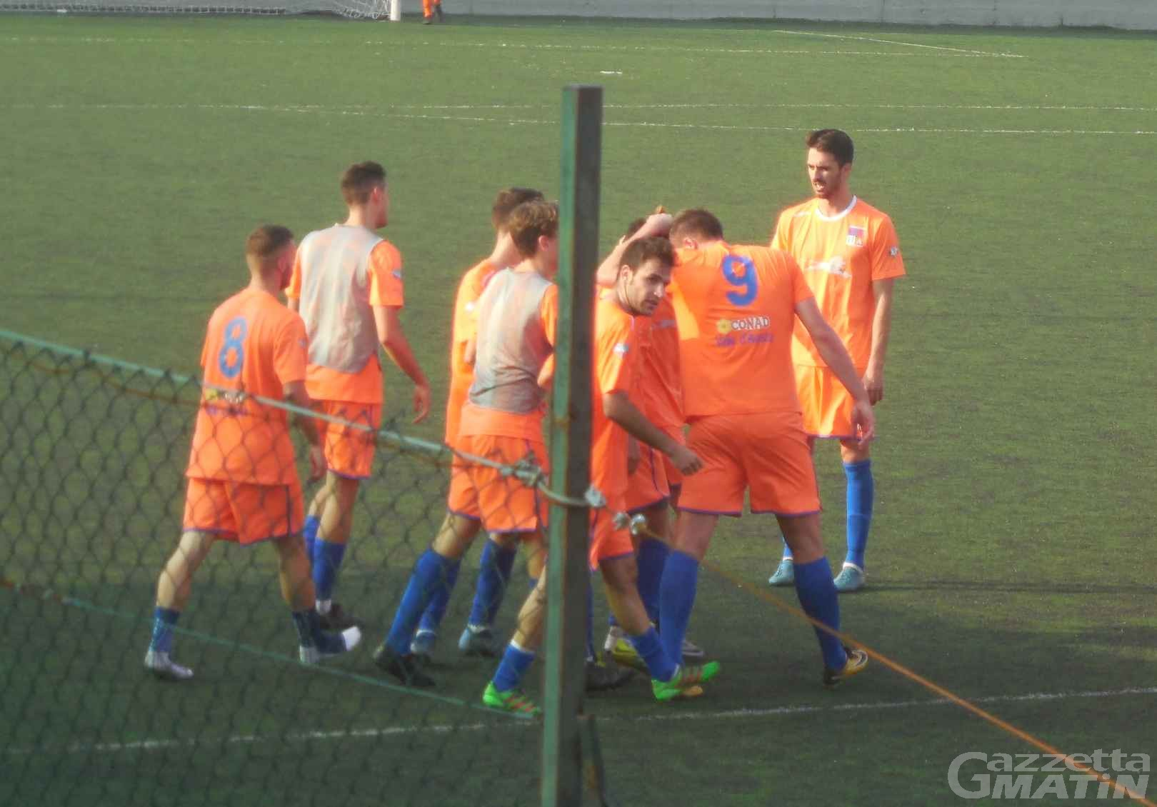 Calcio: rimontona del Pont Donnaz Hône Arnad