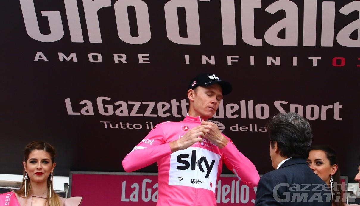 Ciclismo: nel 2019 il Giro d'Italia in Valle d'Aosta