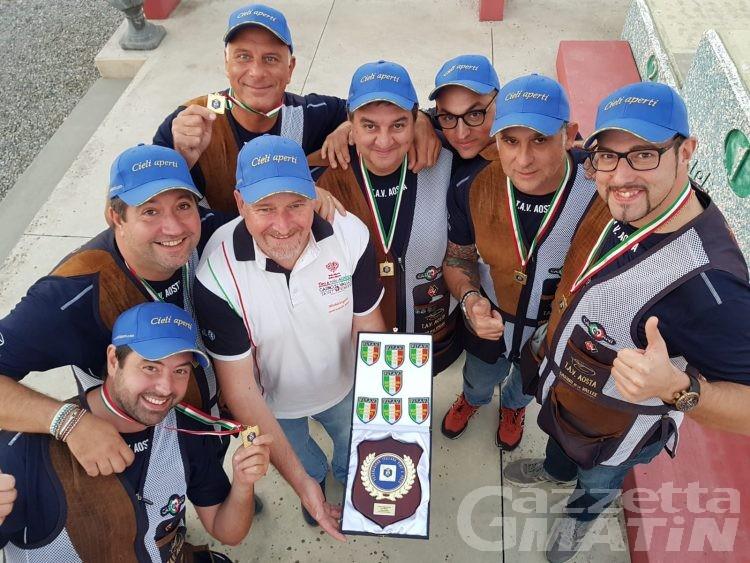 Tiro a volo: Aosta vince il titolo italiano a squadre