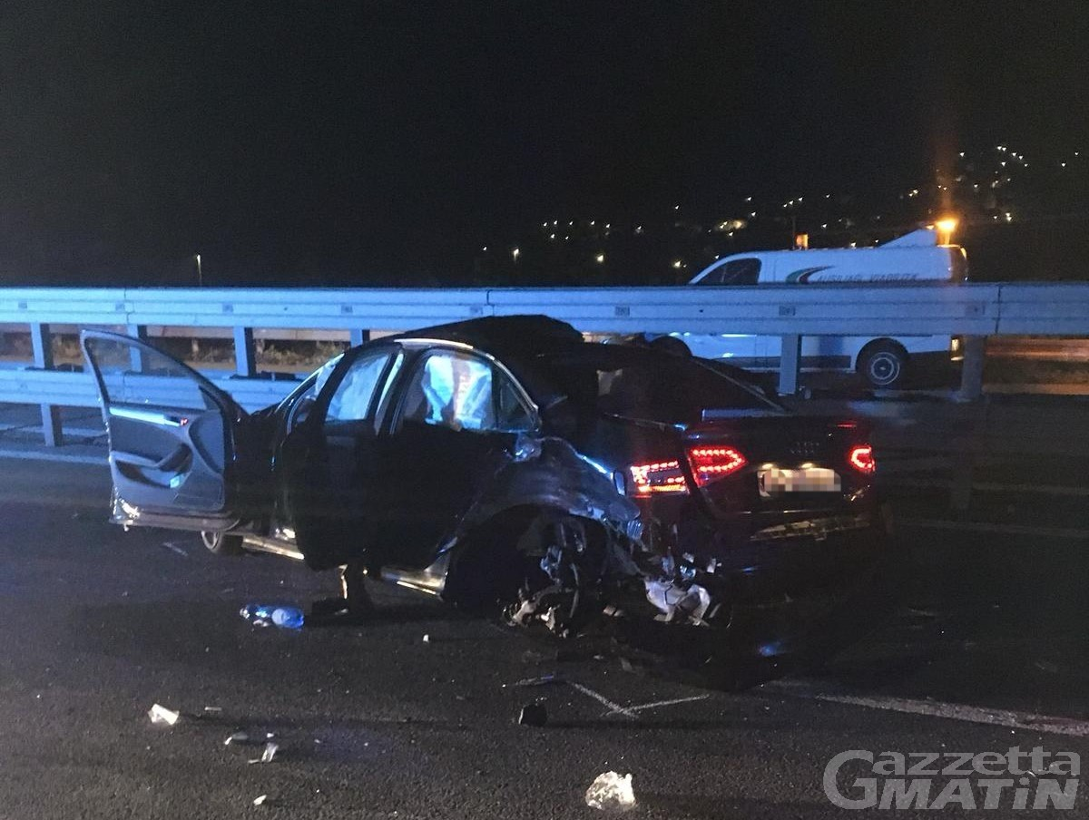Incidente stradale a Verrès, due persone in ospedale