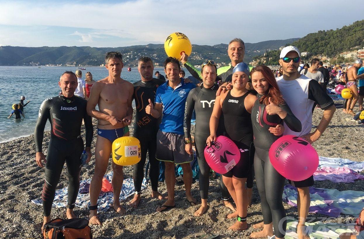 Nuoto: Edith Piffari brilla nella Swim The Island