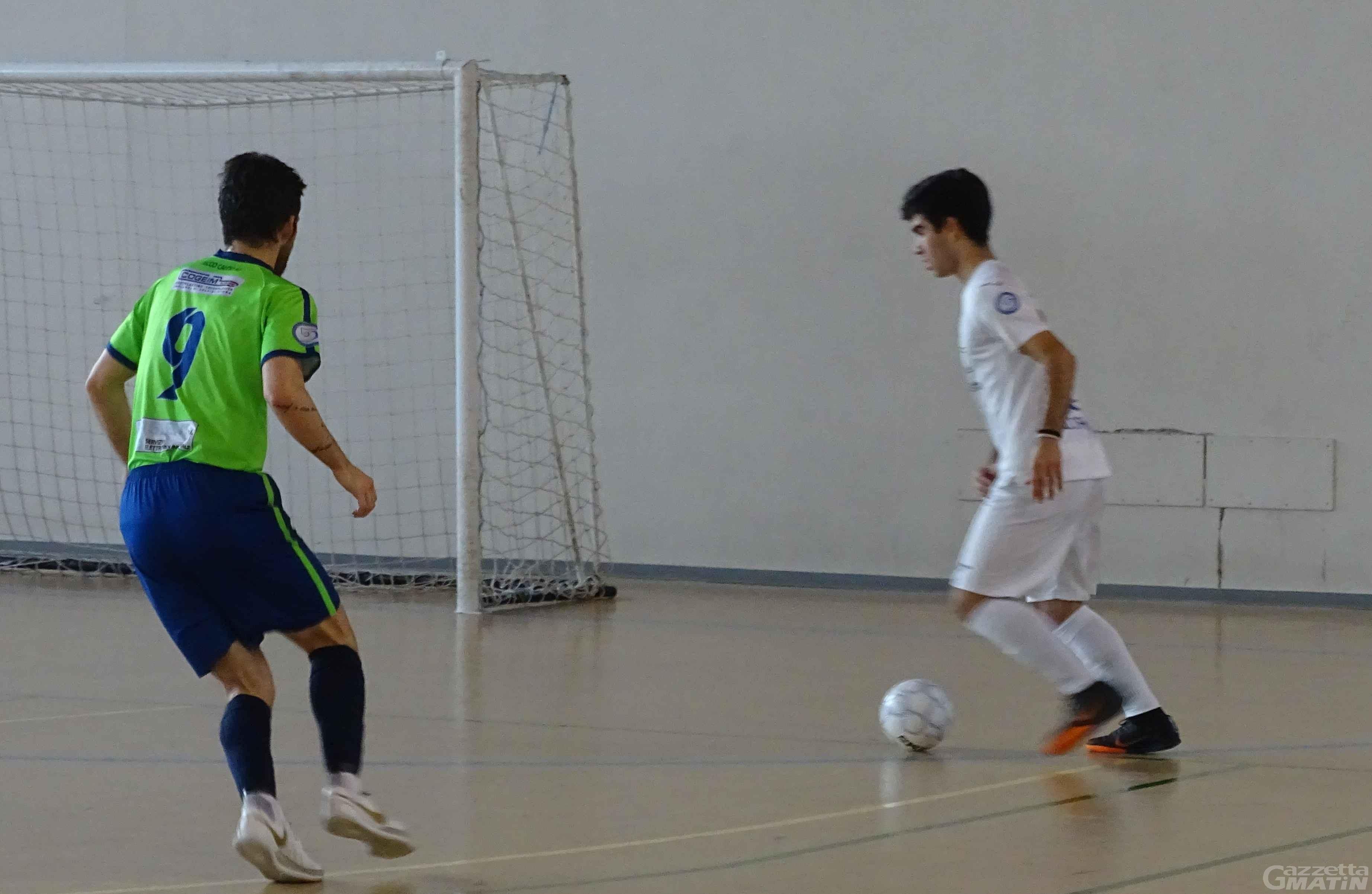 Futsal: l'Aosta Calcio 511 si inchina al Lecco nel finale