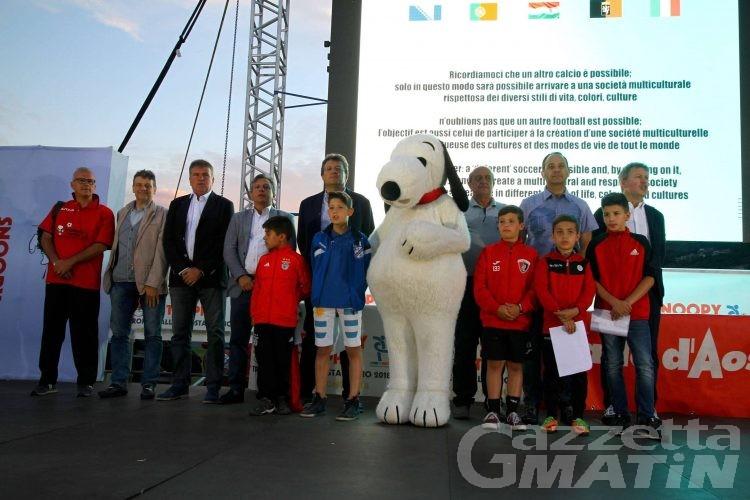 Calcio giovanile: il Trofeo Valle d'Aosta abbandona Snoopy