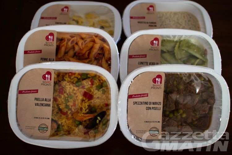 Pranzo al volo: aumentano gli utilizzatori dei pasti pronti a domicilio