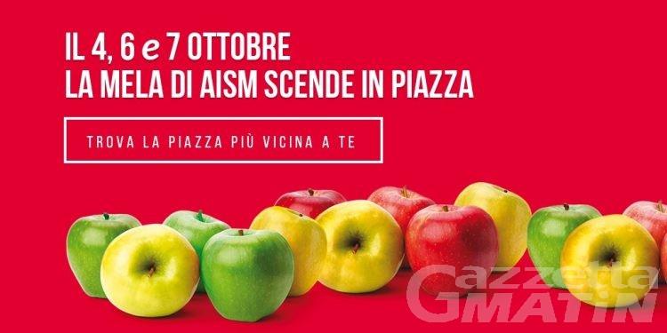 Sclerosi multipla: la mela scende in piazza anche in una ventina di piazze valdostane