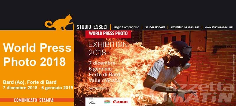 "Fotografia: il concorso ""World press photo"" a dicembre al forte di Bard"