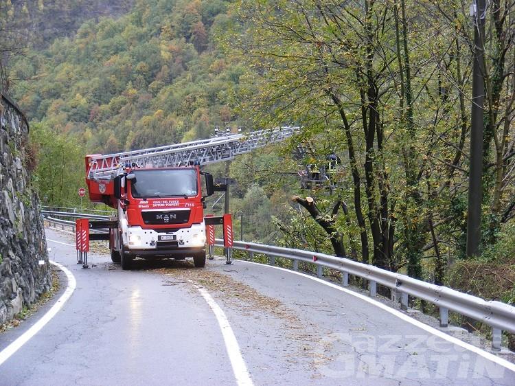 Maltempo, riaperte le strade del Col di Joux e di Champocher