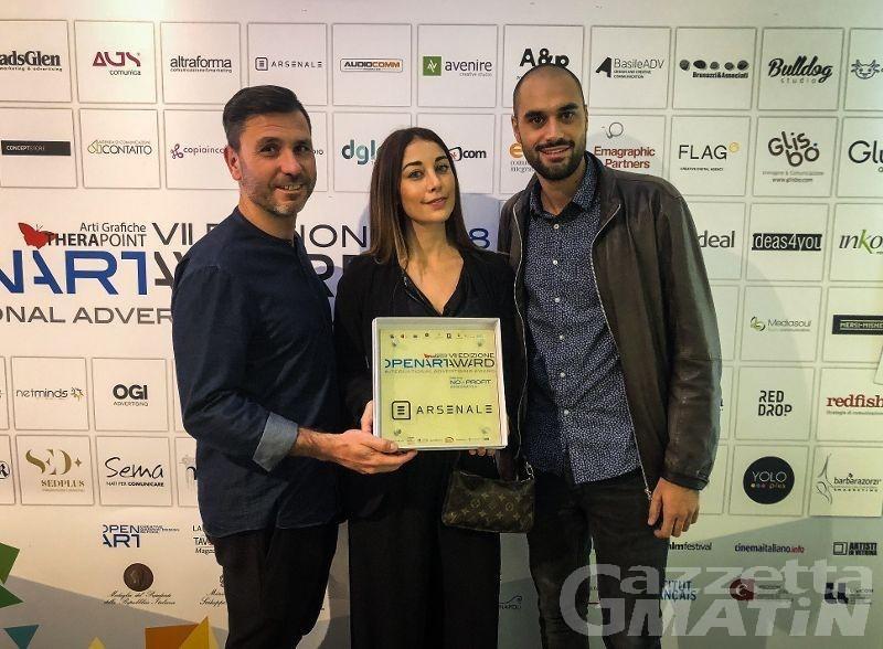 """""""Dipende da me!"""" vince premio nazionale per la pubblicità Openartaward2018"""