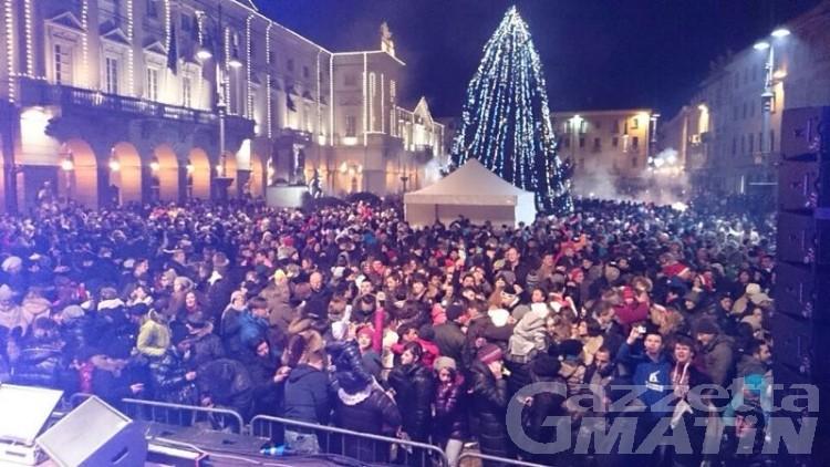 Aosta: il Capodanno trasloca in piazza Roncas