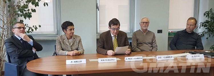 Gallina, Millo e Podio nuovi direttori in Pediatria, Chirurgia generale e Pronto soccorso Ausl Valle d'Aosta
