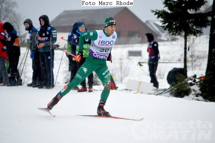 Fondo: Federico Pellegrino secondo nella sprint di Lahti